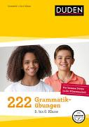 Cover-Bild zu 222 Grammatikübungen - 5. bis 8. Klasse von Braukmann, Werner