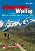 Cover-Bild zu Höhenwege im Wallis von Zahel, Mark
