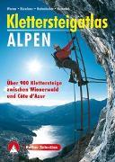 Cover-Bild zu Klettersteigatlas Alpen von Werner, Paul
