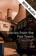 Cover-Bild zu Stories from the Five Towns - With Audio Level 2 Oxford Bookworms Library (eBook) von Bennett, Arnold