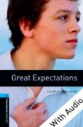 Cover-Bild zu Great Expectations - With Audio Level 5 Oxford Bookworms Library (eBook) von Dickens, Charles