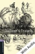 Cover-Bild zu Gulliver's Travels - With Audio Level 4 Oxford Bookworms Library (eBook) von Swift, Jonathan