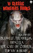 Cover-Bild zu 10 *lassic Monster books. Illustrated (eBook) von Stoker, Bram