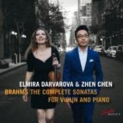 Cover-Bild zu Brahms: The Complete Sonatas for Violin and Piano von Brahms, Johannes (Komponist)