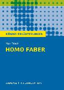 Cover-Bild zu Homo faber. Königs Erläuterungen (eBook) von Frisch, Max
