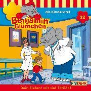 Cover-Bild zu Benjamin Blümchen - ... als Kinderarzt (Audio Download) von Donnelly, Elfie