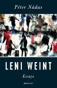 Cover-Bild zu Leni weint von Nádas, Péter