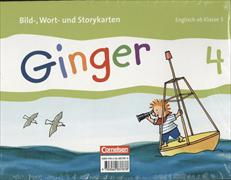 Cover-Bild zu Ginger, Lehr- und Lernmaterial für den früh beginnenden Englischunterricht, Allgemeine Ausgabe - Neubearbeitung, 4. Schuljahr, Bild-, Wort- und Storykarten