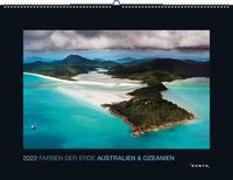 Cover-Bild zu KUNTH Verlag (Hrsg.): Farben der Erde Australien & Ozeanien 2022