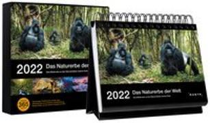 Cover-Bild zu KUNTH Verlag (Hrsg.): Tischkalender Das Naturerbe der Welt 2022