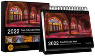 Cover-Bild zu KUNTH Verlag (Hrsg.): Tischkalender Das Erbe der Welt 2022