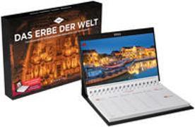 Cover-Bild zu KUNTH Verlag (Hrsg.): Das Erbe der Welt Tischkalender 2022