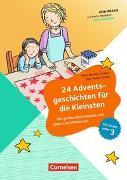 Cover-Bild zu Kita-Praxis - einfach machen! - Geschichten / 24 Adventsgeschichten für die Kleinsten von Bartoli y Eckert, Petra