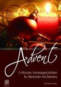 Cover-Bild zu 5-Minuten-Vorlesegeschichten für Menschen mit Demenz: Advent von Bartoli y Eckert, Petra