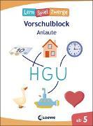 Cover-Bild zu Die neuen LernSpielZwerge - Anlaute von Loewe Lernen und Rätseln (Hrsg.)