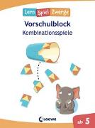 Cover-Bild zu Die neuen Lernspielzwerge - Kombinationsspiele von Loewe Lernen und Rätseln (Hrsg.)