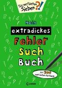 Cover-Bild zu Mein extradickes Fehler-Such-Buch (grün) von Loewe Lernen und Rätseln (Hrsg.)