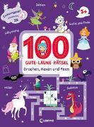 Cover-Bild zu 100 Gute-Laune-Rätsel - Drachen, Hexen und Feen von Loewe Lernen und Rätseln (Hrsg.)