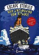 Cover-Bild zu Escape Stories - Der Untergang der Titanic von Doyle, Bill