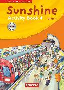 Cover-Bild zu Sunshine, Early Start Edition - Ausgabe 2008, Band 4: 4. Schuljahr, Activity Book mit CD-Extra, Lernsoftware und Lieder-/Text-CD auf einem Datenträger von Hollbrügge, Birgit