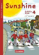 Cover-Bild zu Sunshine, Englisch ab Klasse 3 - Allgemeine Ausgabe 2015, 4. Schuljahr, Activity Book, Mit Audio-CD, Minibildkarten und Faltbox von Beattie, Tanja