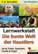 Cover-Bild zu Lernwerkstatt Die bunte Welt der Haustiere (eBook) von Hammelstein, Anja