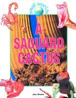 Cover-Bild zu Green, Jen: A Saguaro Cactus