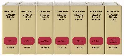 Cover-Bild zu Grundgesetz - Grundgesetz von Maunz, Theodor
