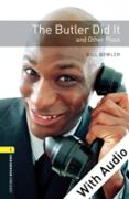 Cover-Bild zu Butler Did It and Other Plays - With Audio Level 1 Oxford Bookworms Library (eBook) von Bowler, Bill