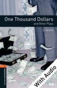 Cover-Bild zu One Thousand Dollars and Other Plays - With Audio Level 2 Oxford Bookworms Library (eBook) von Henry, O.