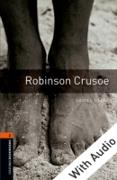 Cover-Bild zu Robinson Crusoe - With Audio Level 2 Oxford Bookworms Library (eBook) von Defoe, Daniel