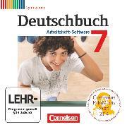 Cover-Bild zu Deutschbuch Gymnasium, Zu Allgemeine Ausgabe - Hessen, Niedersachsen, Nordrhein-Westfalen, Rheinland-Pfalz, 7. Schuljahr, Übungs-CD-ROM zum Arbeitsheft