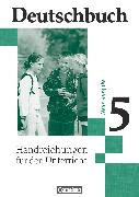 Cover-Bild zu Deutschbuch Gymnasium, Allgemeine bisherige Ausgabe, 5. Schuljahr, Handreichungen für den Unterricht von Brenner, Gerd