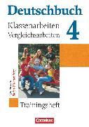 Cover-Bild zu Deutschbuch Gymnasium, Baden-Württemberg - Ausgabe 2003, Band 4: 8. Schuljahr, Klassenarbeitstrainer mit Lösungen von Beck, Markus