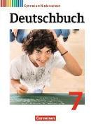 Cover-Bild zu Deutschbuch Gymnasium, Niedersachsen, 7. Schuljahr, Schülerbuch von Brenner, Gerd