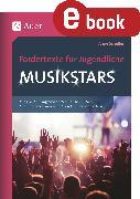 Cover-Bild zu Scheller, Anne: Fördertexte für Jugendliche - Musikstars (eBook)