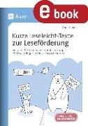 Cover-Bild zu Scheller, Anne: Kurze Leseleicht-Texte zur Leseförderung (eBook)