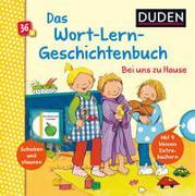 Cover-Bild zu Duden 36+: Mein Wort-Lern-Geschichtenbuch: Bei uns zu Hause von Grimm, Sandra