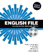 Cover-Bild zu English File third edition: Pre-intermediate: Workbook with key and iChecker