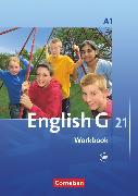 Cover-Bild zu English G 21, Ausgabe A, Band 1: 5. Schuljahr, Workbook mit Audios online von Seidl, Jennifer