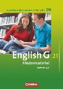 Cover-Bild zu English G 21, Grundausgabe D/Erweiterte Ausgabe D, Band 6: 10. Schuljahr, Fördermaterial, Kopiervorlagen von Forder, Anne