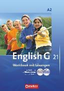 Cover-Bild zu English G 21, Ausgabe A, Band 2: 6. Schuljahr, Workbook mit CD-ROM (e-Workbook) und CD - Lehrerfassung von Seidl, Jennifer