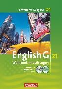 Cover-Bild zu English G 21, Erweiterte Ausgabe D, Band 4: 8. Schuljahr, Workbook mit CD-ROM (e-Workbook) und CD - Lehrerfassung von Seidl, Jennifer