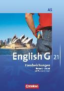 Cover-Bild zu English G 21, Ausgabe A, Band 5: 9. Schuljahr - 6-jährige Sekundarstufe I, Handreichungen für den Unterricht, Mit Kopiervorlagen