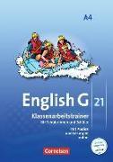 Cover-Bild zu English G 21, Ausgabe A, Band 4: 8. Schuljahr, Klassenarbeitstrainer mit Audios und Lösungen online von Friedrich, Senta