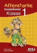 Cover-Bild zu Affenstarke Knobelkartei Band 1 von Lohr, Nicole