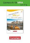 Cover-Bild zu Perspectives - Allez-y !, A1, Kurs- und Übungsbuch als E-Book mit Audios und Videos, Gedruckter Lizenzcode für BlinkLearning (14 Monate für Lernende)