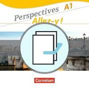 Cover-Bild zu Perspectives - Allez-y !, A1, Kurs- und Übungsbuch und Sprachtraining im Paket, Mit Wortschatztrainer, CDs und Video-DVD von Fischer, Martin B.
