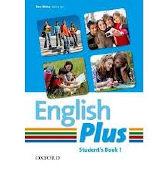 Cover-Bild zu English Plus 1. Student's Book / German Wordlist von Wetz, Ben