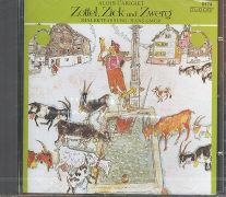Cover-Bild zu Carigiet, Alois: Zottel, Zick und Zwerg